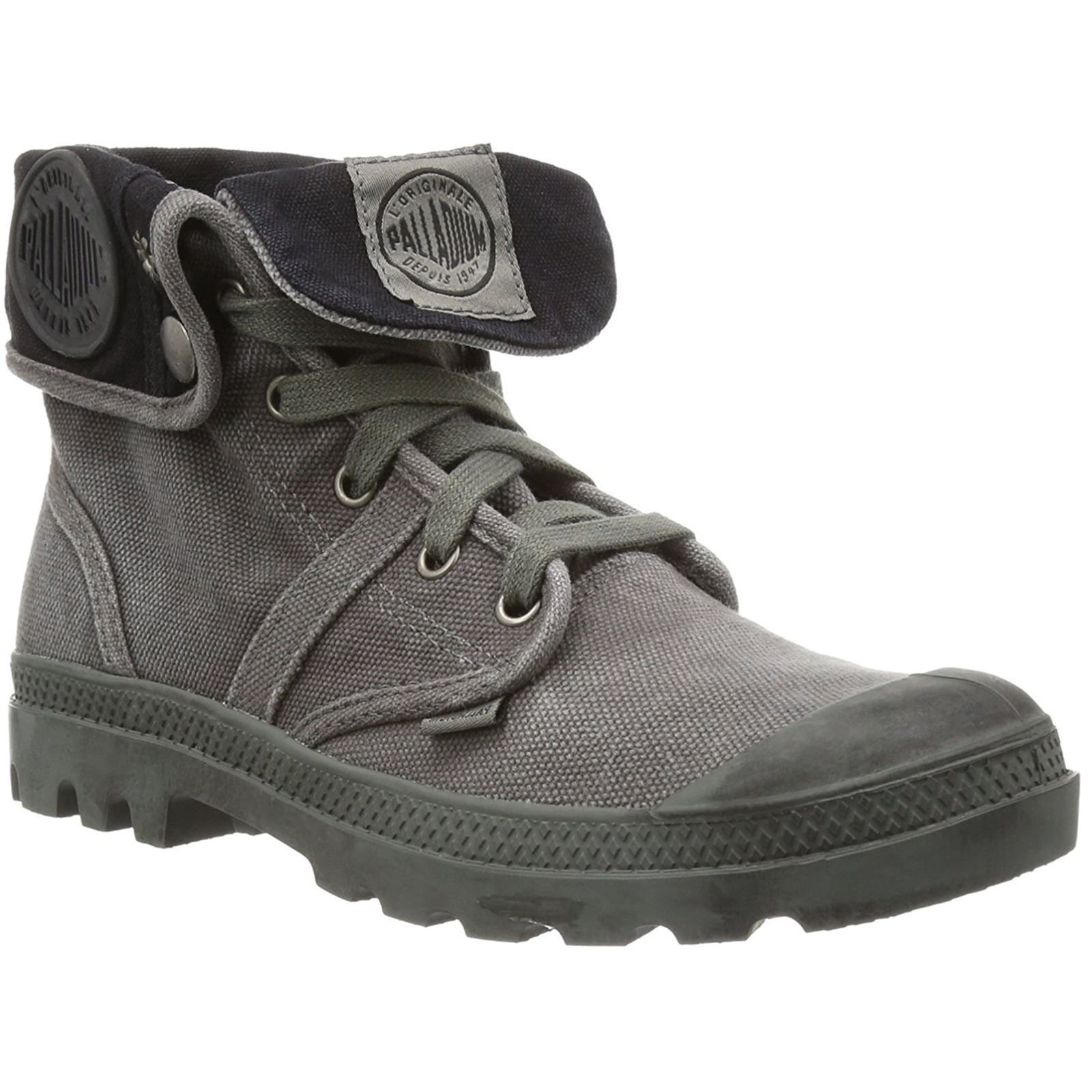 Palladium Canvas Pallabrouse Baggy Metal Damenschuhe Canvas Palladium Fold Down Casual Ankle Stiefel 4875ec