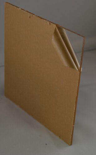 "Clear Acrylic Sheet Plexiglass 4/"" x 24/"" Strip AZM SALE 3 PACK 1//4/"" 6mm"