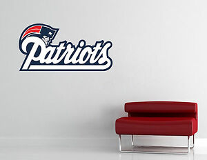 New England Patriots NFL Wall Decal Vinyl Sticker Decor Basketball EXTRA LARGE