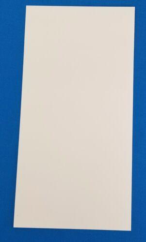 G10 Blanco 1//16 .062 X 6 X 12 //Espaciador Mango Cuchillo//pistola de material del trazador de líneas 1
