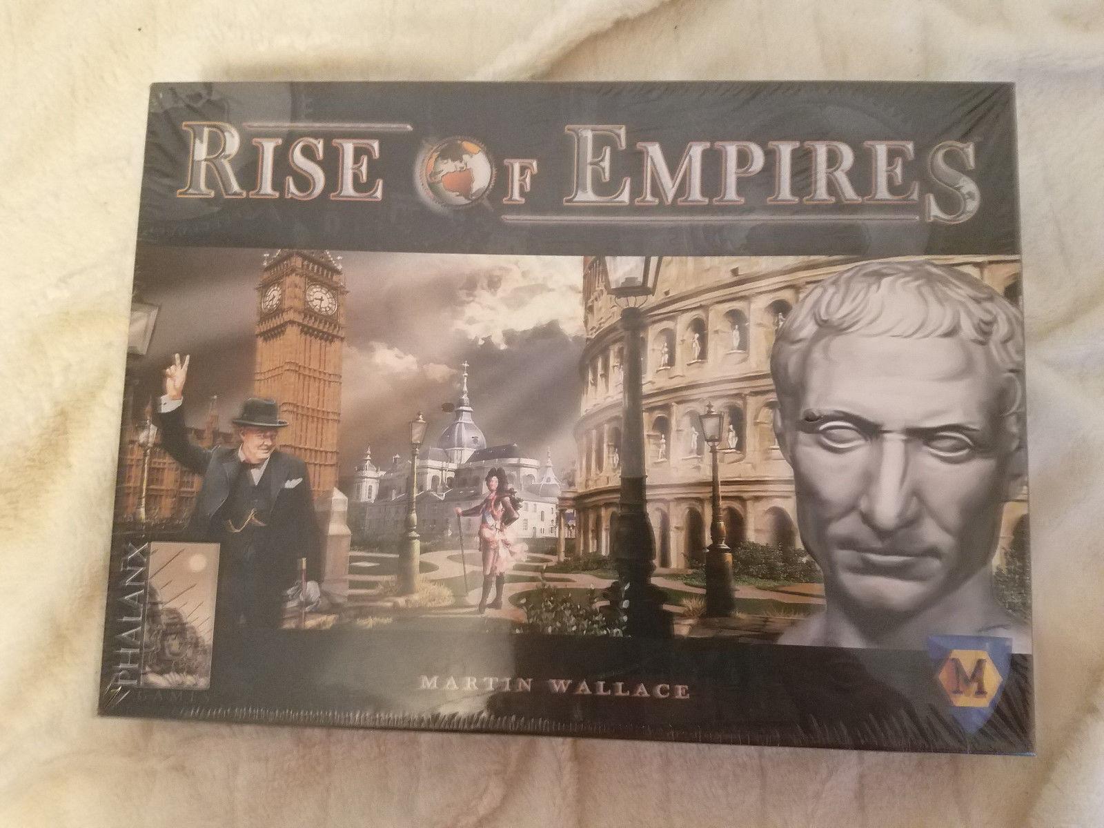 Rise of empires juego 2009 sellado de fábrica juego de mesa guerra Mayfair Martin Wallace