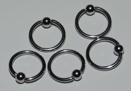 1 par de acero inoxidable creolen con rosca plegable y pedrería plata 2cm