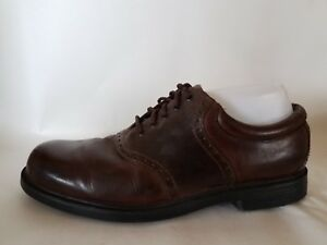 491f14b7bdb7 ROCKPORT Mens 9 M Leather Dress Oxford Shoes Brown Casual M9491 ...