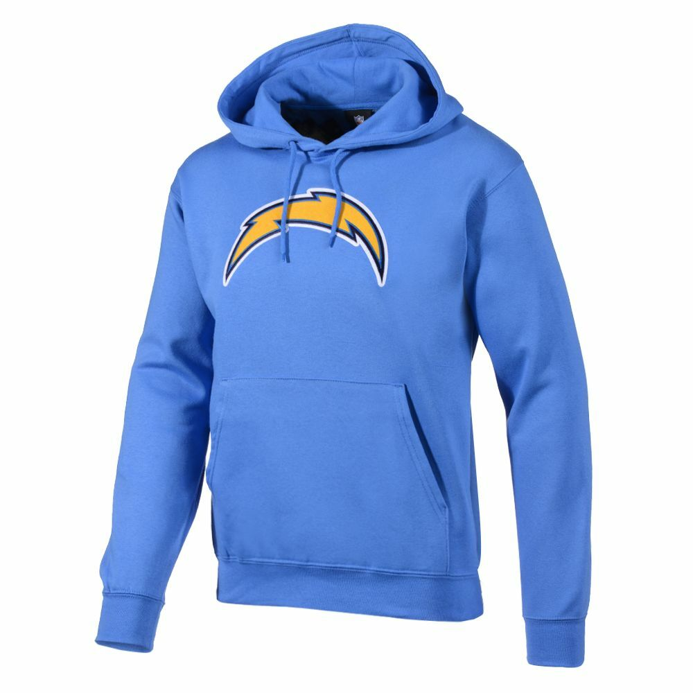 NFL Hoody kaputzenpullover Los Angeles L.A. Chargers TEK Babyblu Hooded Sweater