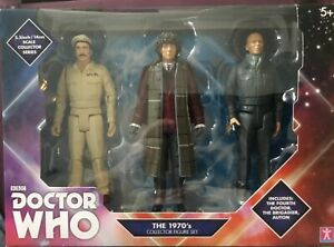 BBC-DOCTOR-WHO-THE-1970-S-DOCTOR-COLLECTOR-FIGURES-NEW-IN-BOX-UK-SELLER