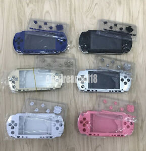 10-Colors-For-PSP1000-PSP-1000-1004-1008-Console-Housing-Shell-Case-With-Buttons