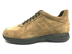 SCARPE-CASUAL-SNEAKERS-UOMO-LION-DRIVER-1215-PELLE-ORIGINALE-AI-NEW