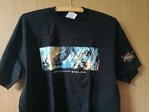 Pirates Special Edition T-Shirt vom PC Spiel Pirates - Oberhausen, Deutschland - Pirates Special Edition T-Shirt vom PC Spiel Pirates - Oberhausen, Deutschland
