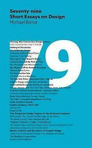 Seventy-nine-Short-Essays-on-Design-Bierut-Michael-Excellent-Book