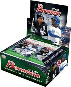 2019 Bowman Baseball Factory Sealed 24 Pack Box - Fanatics