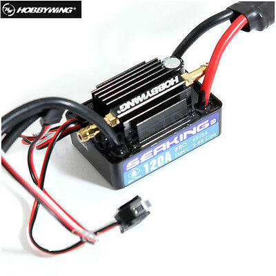 HOT  Hobbywing 2-6S Seaking 120A V3 Electronic Speed Controller ESC for RC Boats