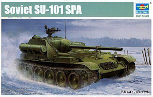 Soviet SU-101 Spa Tank  1 35 Model TRUMPETER  Achetez maintenant