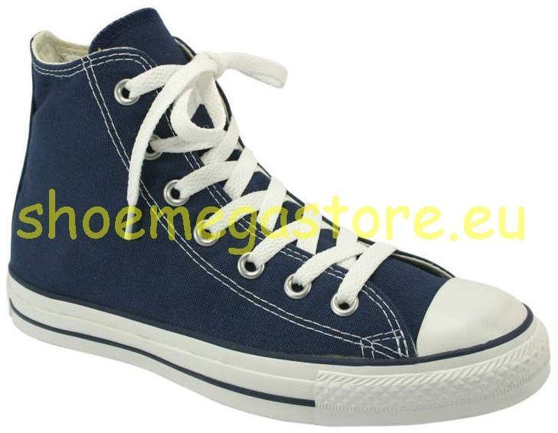 Original Converse Blau Navy Hi Chuck Taylor All Star M9622
