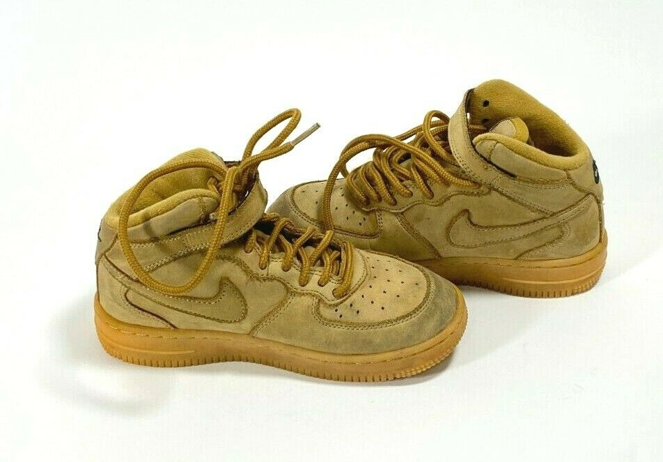 Toddler 13C Flax Wheat Nike Air Force 1
