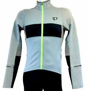 Image is loading Pearl-Izumi-ELITE-Thermal-LS-Cycling-Jersey-Grey- c4954d022