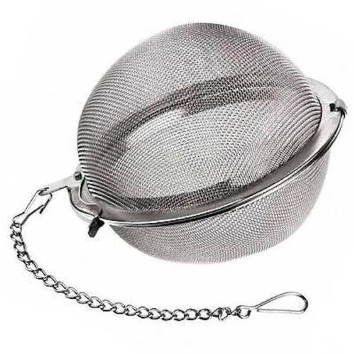 Colador filtro de malla para infusion de acero inox