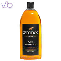 Woody's Daily Shampoo For Men Normal To Oily Hair Paraben Free, Grooming