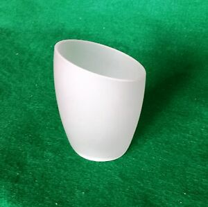 Slanted-Frosted-Glass-Lampshade-Fits-B-amp-Q-Quo-Venus-Lights-replacement-Ottoni