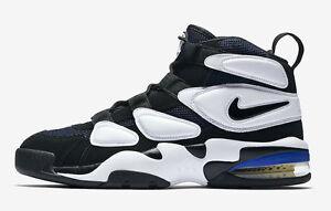 2017 Nike Air Max2 Uptempo 94 QS Duke Blue Devils Size 13. 922934-101 Black Blue