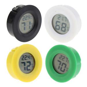 Plastic-Round-Digital-Thermometer-Hygrometer-Temperature-Indoor-Convenient