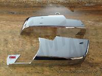Gmc Sierra Chrome Mirror Covers For 2014-2015 (lower Mirrors)