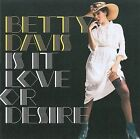 Is It Love or Desire [Digipak] * by Betty Davis (CD, Sep-2009, Light in the Attic Records)