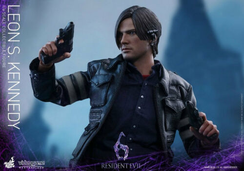 """Kennedy Collectible Figure Leon S Hot Toys 1//6 12/"""" VGM22–Resident Evil 6"""