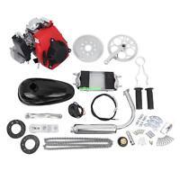 Black 49cc 4 Stroke Cycle Motor Kit Motorized Bike Petrol Gas Bicycle Engine
