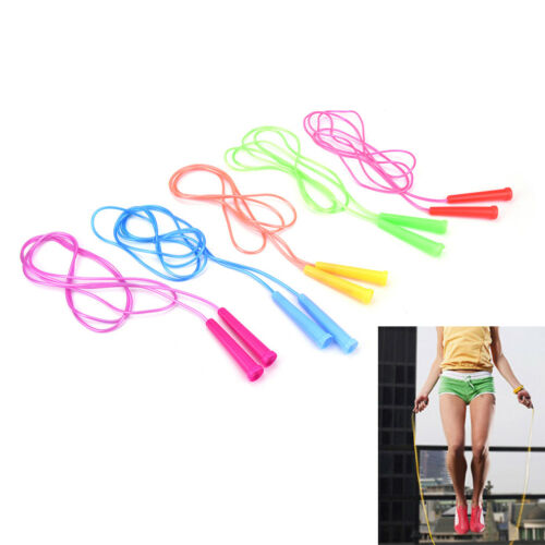 1pc.speed wire skipping adjustable jump rope fitness sport exercise cross fit YR