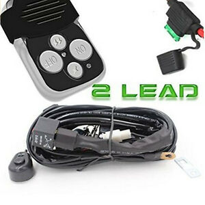 Universal 40a 12v Wiring Kit With Wireless Remote Control For Car