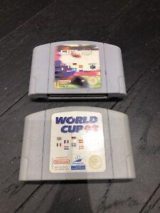 Copa del Mundo 98 y FIFA 98 NINTENDO 64/N64