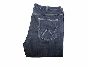 Mens-x-Wrangler-Jeans-Durable-W101-Dark-Blue-Factory-seconds-WA4
