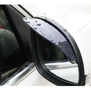 2Pcs-Rear-View-Black-Side-Mirror-Rain-Snow-Shield-Protector-For-Car-Auto