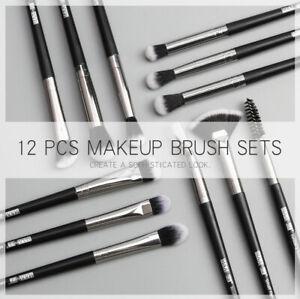 ef1315d7d627 Details about 12Pcs Professional Makeup Brush Set for Women Face Eye  Eyeshadow Brushes d6