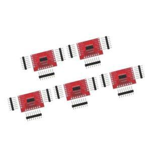 5 Pieces 74HC595 8-Bit Shift Register DIP-16 IC Breakout PCB Board