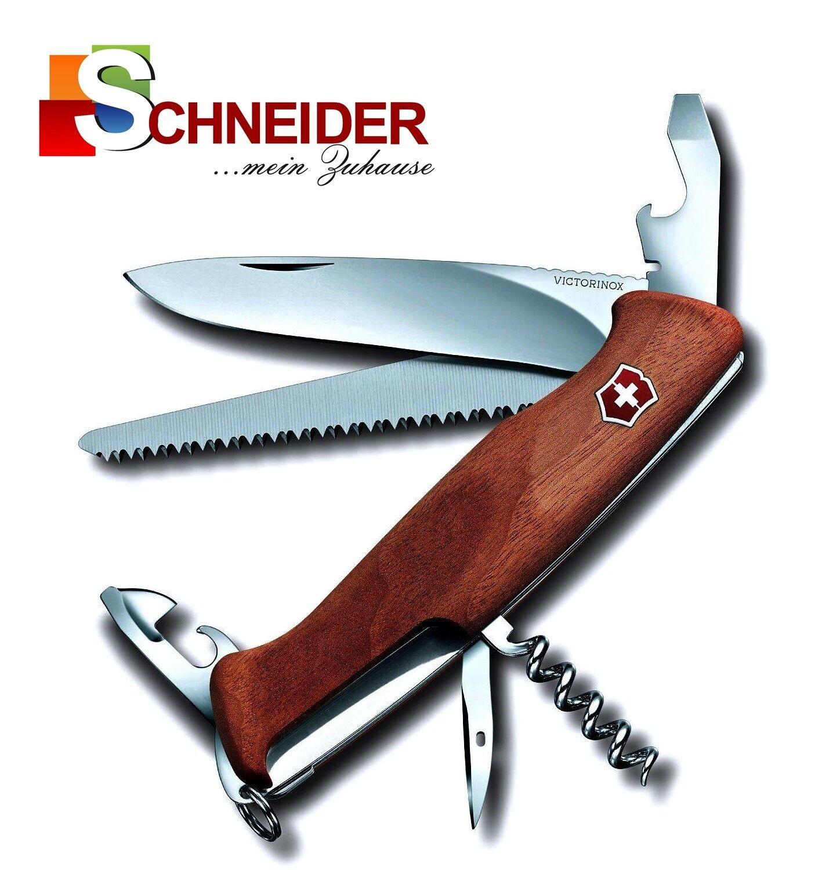 Victorinox Taschenmesser Ranger Wood RangerWood 55 10 Funktionen 0.9561.63B1