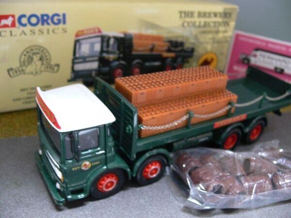 1 50 Corgi AEC Chains & Barrels Barrels Barrels Set Trumans Brewery GB 20901  | Starke Hitze- und Hitzebeständigkeit  04c2e2