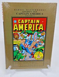 Golden-Age-Captain-America-Volume-5-Marvel-Masterworks-HC-Hard-Cover-New-Sealed