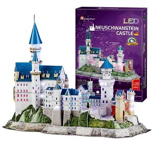 Cubicfun 3d Puzzles For Adults And Kids Architecture Model Building Papercra Ebay