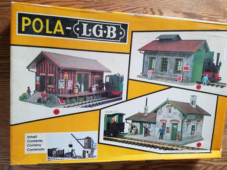 Pola G Escala pequeñas para Carbón Depot Modelo Tren Construcción Kit  920 como en la foto