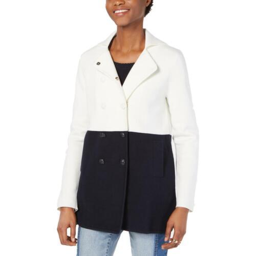 Tommy Hilfiger pour femme Double-breasted Colorblock manteaux en Tricot Veste BHFO 3496