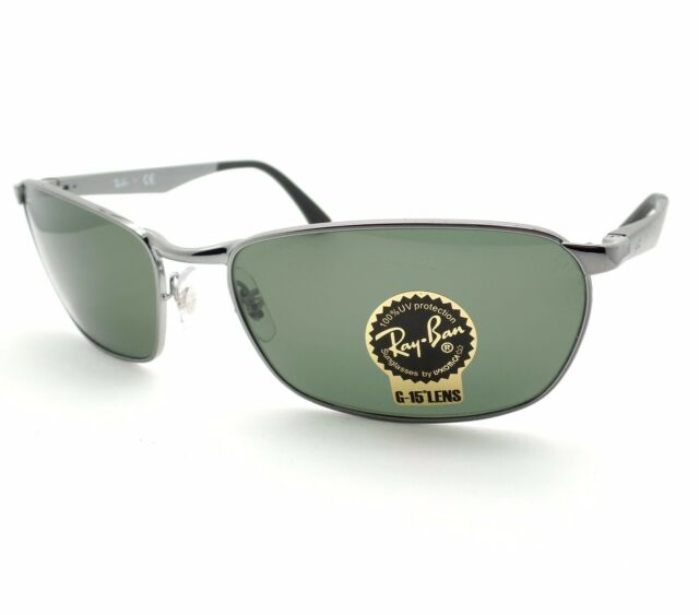 3acb204f838 Authentic Ray-Ban Mens Sunglasses Rb3534 Gunmetal 004 Size 59. +.   109.95Brand New. Free Shipping
