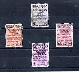 Venezuela-Valores-aereos-del-ano-1954-BN-574