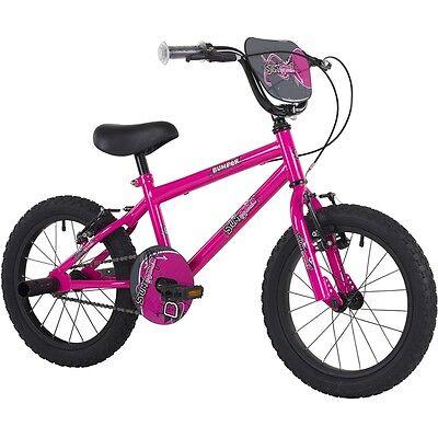 Bumper Stunt Rider 18 Pink Girls Kids Pavement Bike Stunt BMX Style