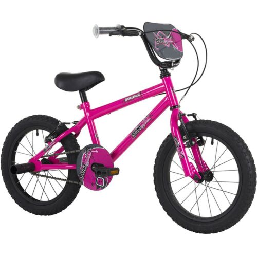 Bumper Stunt Rider 18 Pink Girls Kids Pavement Bike Stunt BMX Style