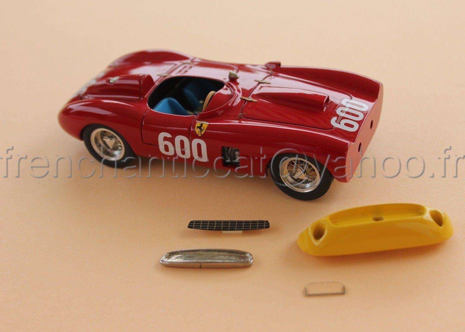 C108 voiture 143 FERRARI 290 Mile miglia 1956 collector Heco miniature provence