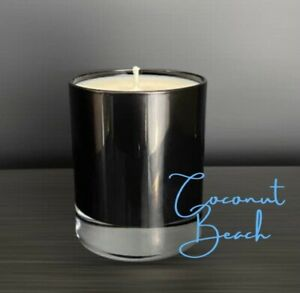 Vegan Soy Wax Container Candle. Handmade Coconut Scented Candles Gift Ideas