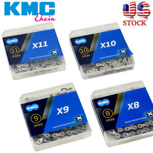 KMC-6-7-8-9-10-11Speed-Chain-116-118-1-2X3-32-034-11-128-034-MTB-Bike-Fit-Shimano-SRAM