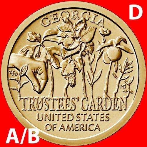 2019-D A/&B American Innovation Georgia Dollar Uncirculated 2 Coin Set