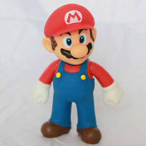 Super-Mario-Brothers-Bros-5-034-Action-Figure-Mario-Collectible-Kids-Toy-USA-SELLER